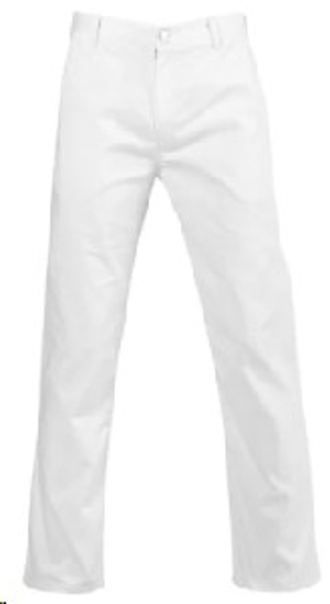 Picture of JONSSON WORK TROUSERS 65/35 WHITE