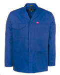 Picture of JONSSON WORK JACKET ROYAL 65/35
