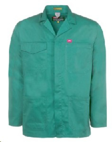 Picture of JONSSON WORK JACKET EMERALD 65/35