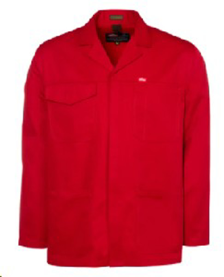 Picture of JONSSON WORK JACKET RED 65/35