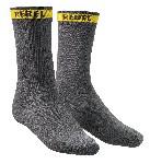 Picture of REBEL SOCKS-GREY-Size8-12